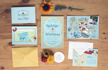 Northwest Wedding Stationery